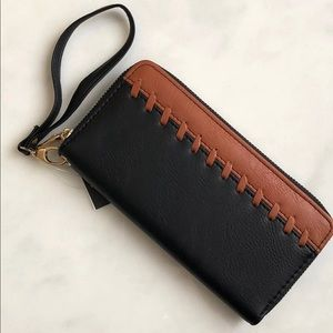 Handbags - black & brown wallet